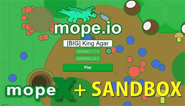 Photo of Mope.io Sandbox Gameplay